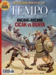 Cicak vs Buaya Cover Tempo